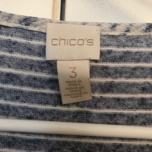Chico's blue dolman T shirt